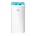 TP-LINK TL-PB10400 power bank Blue,White 10400 mAh