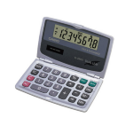 Casio SL-200TE Pocket Basic calculator Silver calculator