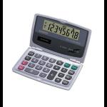 Casio SL-200TE Pocket Basic calculator Silver calculator