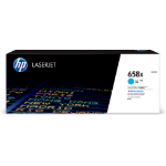 HP 658X toner cartridge 1 pc(s) Original Cyan