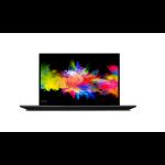 "Lenovo ThinkPad P1 Black Mobile workstation 39.6 cm (15.6"") 1920 x 1080 pixels 9th gen Intel® Core™ i7 i7-9850H 16 GB DDR4-SDRAM 512 GB SSD"