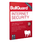 BullGuard Internet Security 2020 Retail, 3 User - 10 Pack, PC, Mac & Android, 1 Year