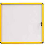 Bi-Office VT9501601511 bulletin board Fixed bulletin board White,Yellow Steel