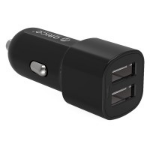 Orico 12W 2 Port Car Charger (UCL-2U); 2 USB Charging Ports; DC 12 - 24V; 5V2.4A; 5V3.4A 17W; Intelligent