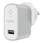Belkin MIXIT↑ Indoor Silver, White mobile device charger