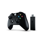 Microsoft Xbox One + Wireless Gamepad Xbox One Black