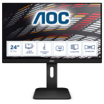 AOC P1 X24P1 PC Flachbildschirm 61 cm (24 Zoll) 1920 x 1200 Pixel WUXGA LED Schwarz