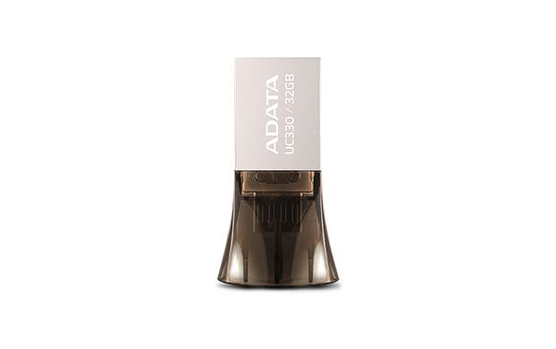 ADATA UC330 32GB USB 2.0 Type-A Black,Silver USB flash drive