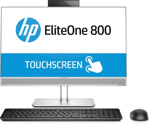 """HP EliteOne 800 G3 3.4GHz i5-7500 23.8"""" 1920 x 1080pixels Touchscreen Black, Silver All-in-One PC"""