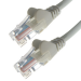Connekt Gear 4M Grey RJ45 UTP CAT 5e Stranded Flush Moulded Snagless Network Cable 24AWG