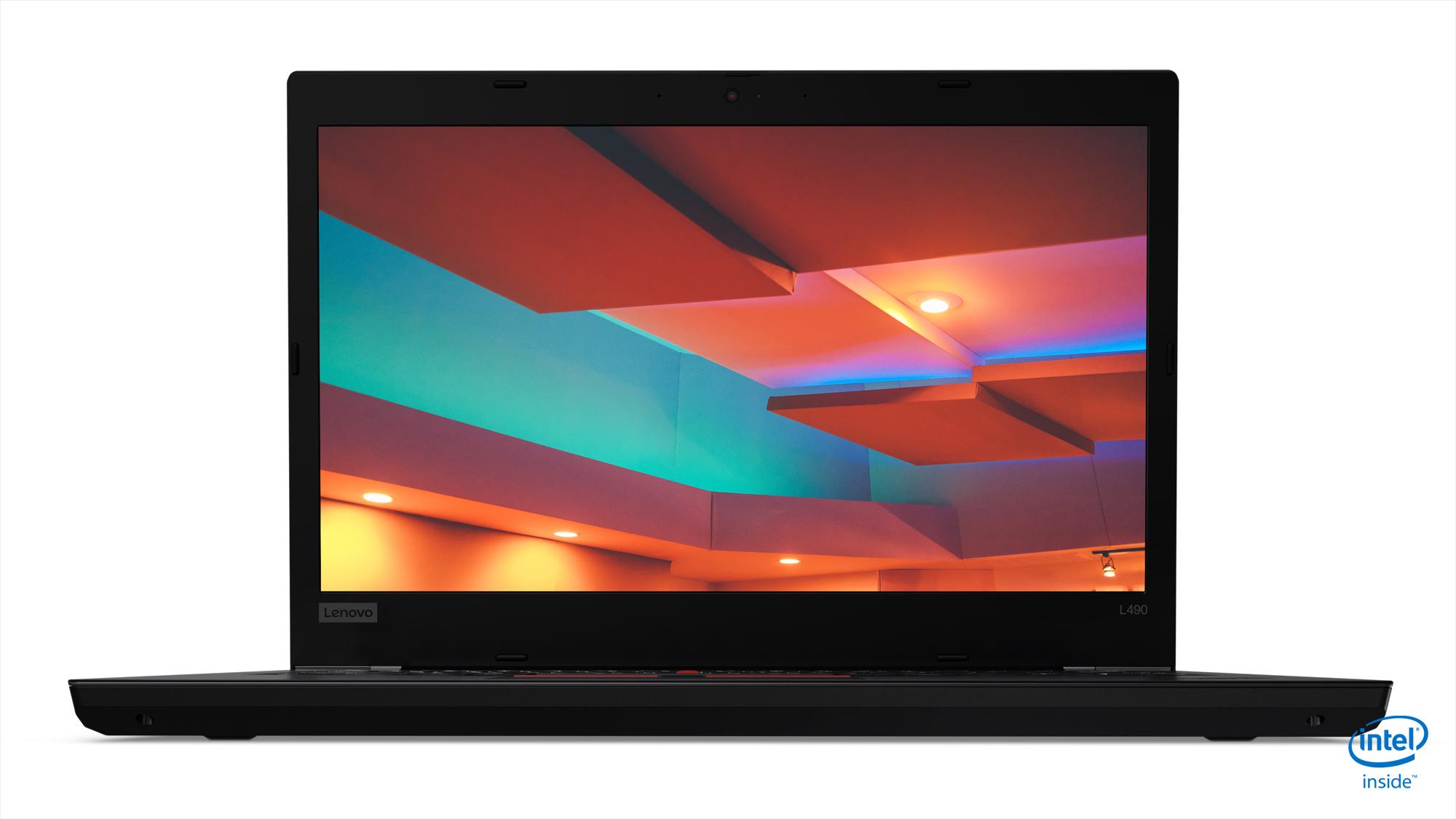 "Lenovo ThinkPad L490 Portátil Negro 35,6 cm (14"") 1920 x 1080 Pixeles 8ª generación de procesadores Intel® Core™ i7 8 GB DDR4-SDRAM 256 GB SSD Wi-Fi 5 (802.11ac) Windows 10 Pro"