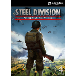 Paradox Interactive Steel Division: Normandy 44, PC Basic Linux/Mac/PC DEU Videospiel