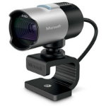 Microsoft LifeCam Studio 2MP 1920 x 1080pixels USB 2.0 Black,Silver webcam