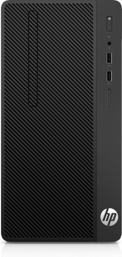 HP 290 G1 7th gen Intel® Core™ i3 i3-7100 4 GB DDR4-SDRAM 500 GB HDD Black Micro Tower PC