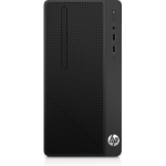 HP 290 G1 3.9GHz i3-7100 Micro Tower Black PC