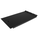 StarTech.com Solid Blank Panel with Hinge for Server Racks - 6U