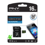 PNY Performance memory card 16 GB MicroSDHC Class 10 UHS-I