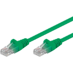 Microconnect B-UTP60025G 0.25m Cat6 U/UTP (UTP) Green networking cable