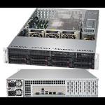 Supermicro SuperServer 6029P-TR Intel® C621 Socket P Rack (2U) Black
