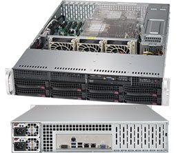 Supermicro SuperServer 6029P-TR Intel® C621 Socket P 2U Black