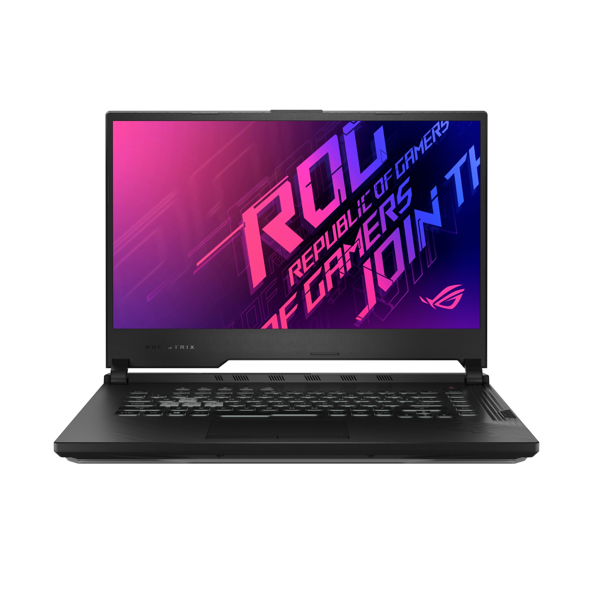 "ASUS ROG Strix G512LV-HN037T notebook Black 39.6 cm (15.6"") 1920 x 1080 pixels 10th gen Intel® Core™ i7 16 GB DDR4-SDRAM 512 GB SSD NVIDIA® GeForce RTX™ 2060 Wi-Fi 6 (802.11ax) Windows 10"