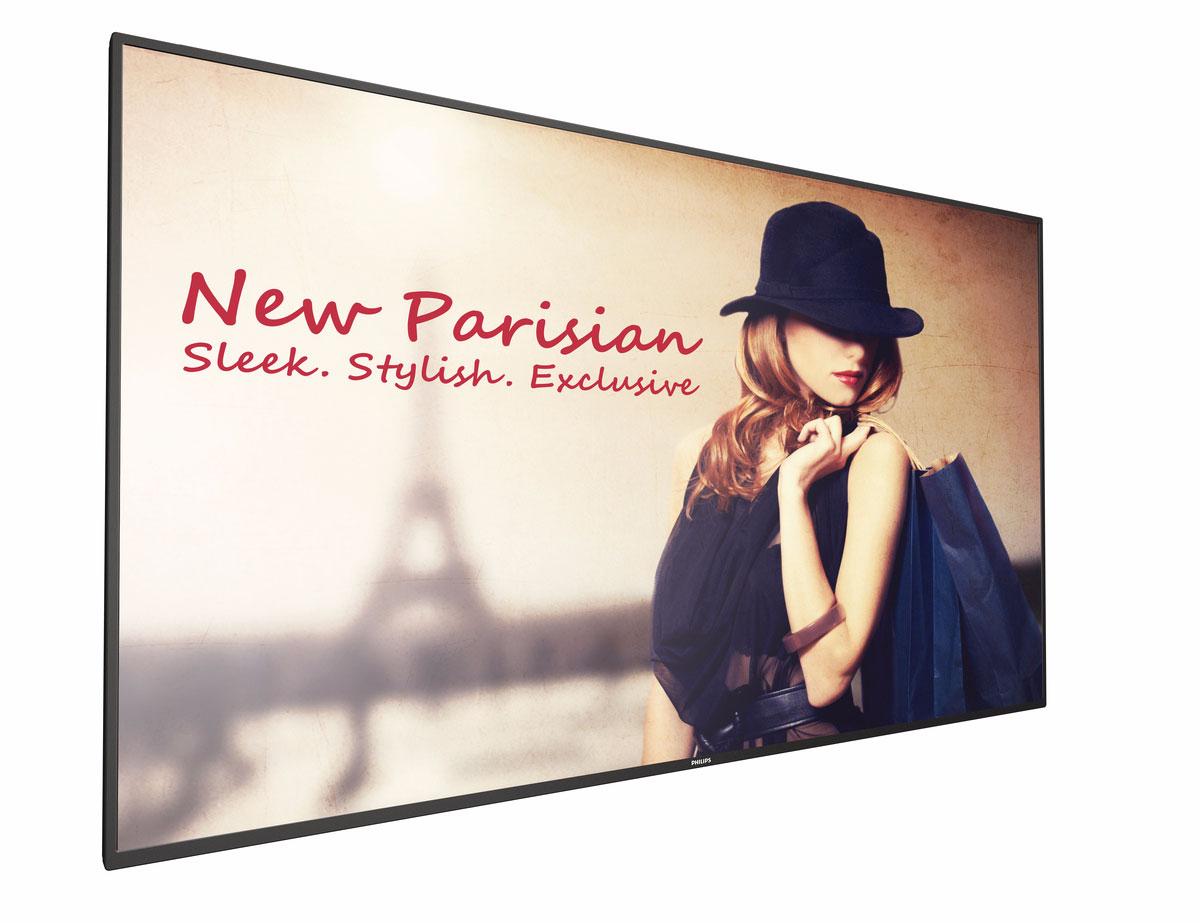 "Philips 65BDL4150D 163,8 cm (64.5"") 4K Ultra HD Pantalla plana para señalización digital Negro"