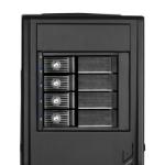 Silverstone FS304 disk array Black