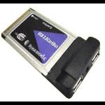Dynamode 2 Port Firewire PCMCIA Adapter 400 Mbit/s LFE2000-31194-3