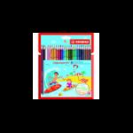 STABILO Aquacolor colour pencil 24 pc(s) Multicolour