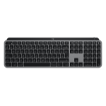 Logitech MX Keys keyboard RF Wireless + Bluetooth QWERTY UK English Aluminum, Black