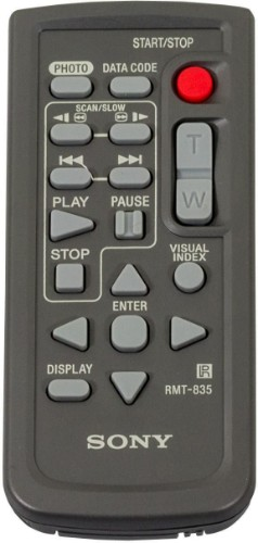 Sony RMT-835 remote control Wired Press buttons