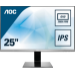 "AOC Q2577PWQ LED display 63,5 cm (25"") 2560 x 1440 Pixeles Negro, Plata"