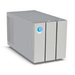 LaCie 2big Thunderbolt 2 6000GB Desktop Silver disk array