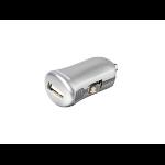 eSTUFF ES80101-SILVER Auto Silver mobile device charger