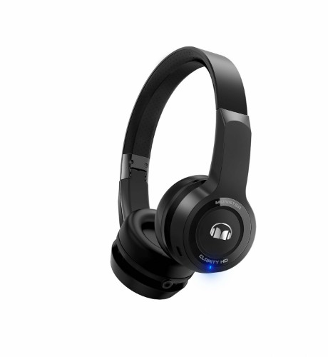Monster Cable Clarity HD Head-band Binaural Wired & Wireless Black mobile headset