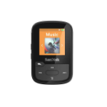 SanDisk Clip Sport Plus MP3 speler 32 GB Zwart