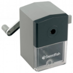 Swordfish 40100 pencil sharpener Manual pencil sharpener Black, Grey