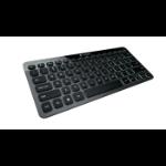 Logitech Bluetooth Illuminated Keyboard K810 Bluetooth QWERTZ Swiss Aluminium mobile device keyboard
