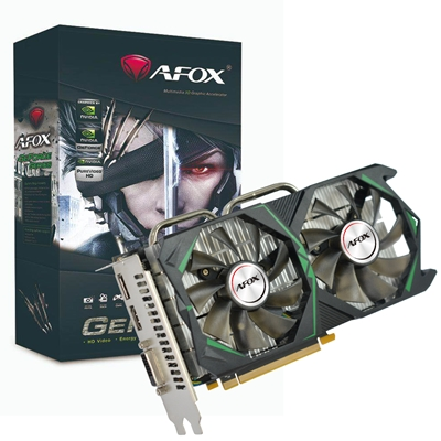 AFOX GeForce GTX1060 3GB 192bit GDDR5 ATX Dual Fan Graphics Card