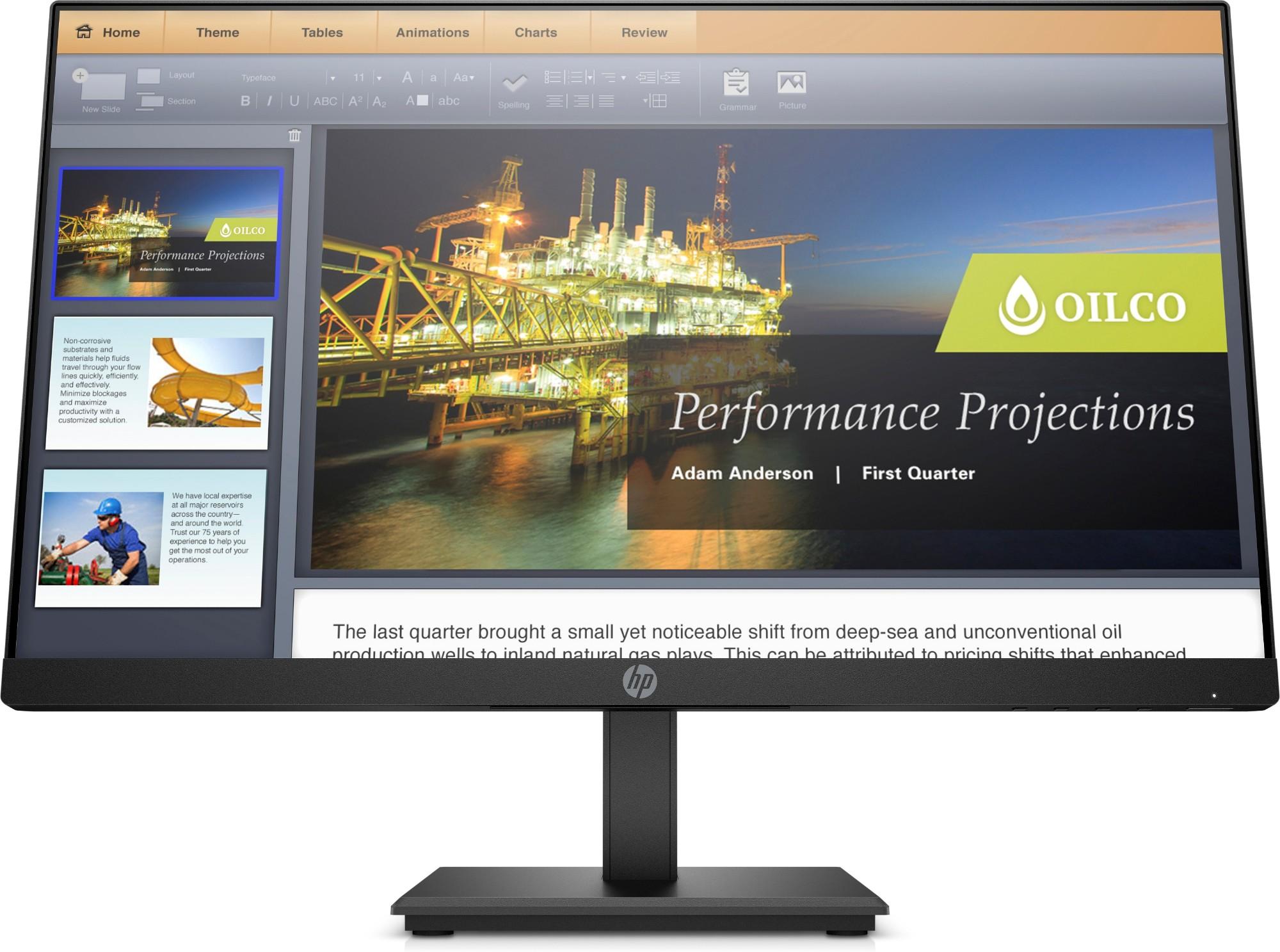 HP Monitor P224 de 21,5 pulgadas 54.6 cm (21.5