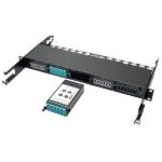 Tripp Lite 40Gb to 10Gb Breakout Cassette - (x2) 12-Fiber OM4 MTP/MPO to (x12) LC