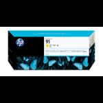 HP 91 Origineel Geel 1 stuk(s)