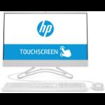 """HP 22 -c0201ns 54,6 cm (21.5"""") 1920 x 1080 Pixeles Pantalla táctil Intel® Celeron® 4 GB DDR4-SDRAM 1000 GB Unidad de disco duro Blanco PC todo en uno"""