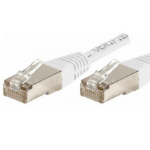 EXC 853810 networking cable 0.5 m Cat6 F/UTP (FTP) White
