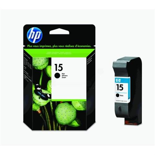 HP C6615DE (15) Printhead black, 500 pages, 25ml