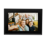 "Denver PFF-1011BLACK digital photo frame 25.6 cm (10.1"") Touchscreen Wi-Fi Black"