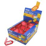 KEVRON CLICKTAG PLASTIC RED PK100 KEVRON ID5R
