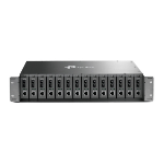 TP-LINK TL-MC1400 V3 network equipment chassis 2U