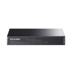 TP-LINK 8-port 10/100 PoE Switch Unmanaged network switch Power over Ethernet (PoE) Black