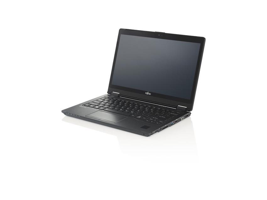 "Fujitsu LIFEBOOK P727 2.8GHz i7-7600U 12.5"" 1920 x 1080pixels Touchscreen Black Hybrid (2-in-1)"